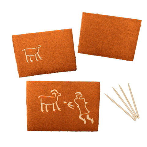 Sand Scratch Boards aka Rock Art Boards  buy Individually or in Bulk - Jurassic Sands