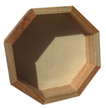 Wooden Oval & Octagon Mini Sand Trays - Jurassic Sands  - 2