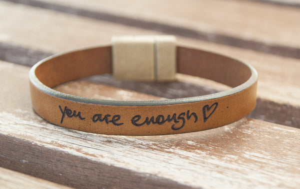 Actual Handwriting Bracelet Custom Signature Bracelet Engraved