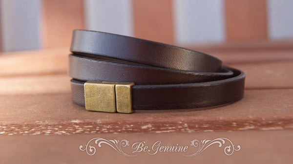 Wrap Leather Bracelet Guy Gifts