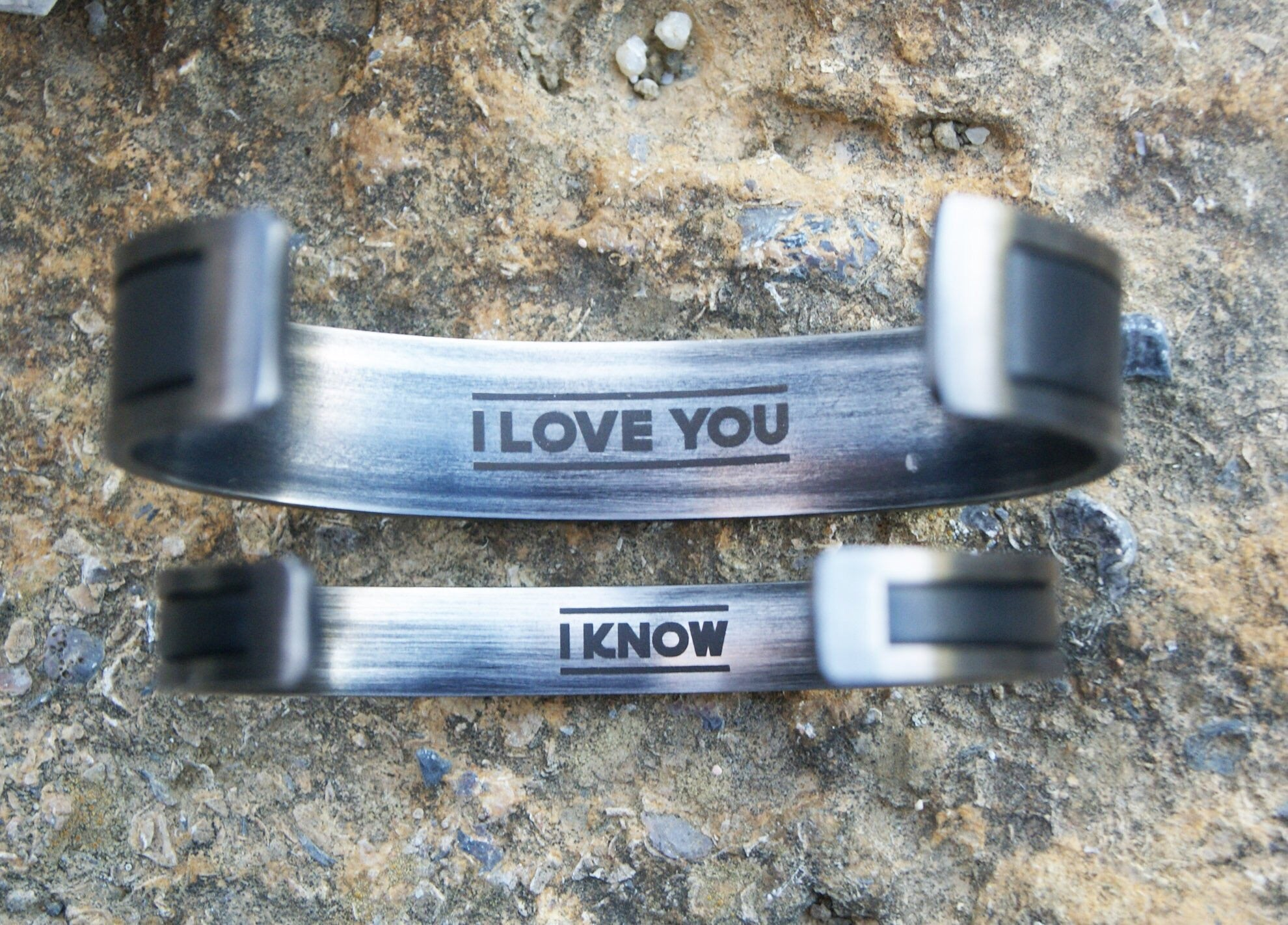 I Love You - I know Matching Infinity Bracelets for Couples Wedding Gift