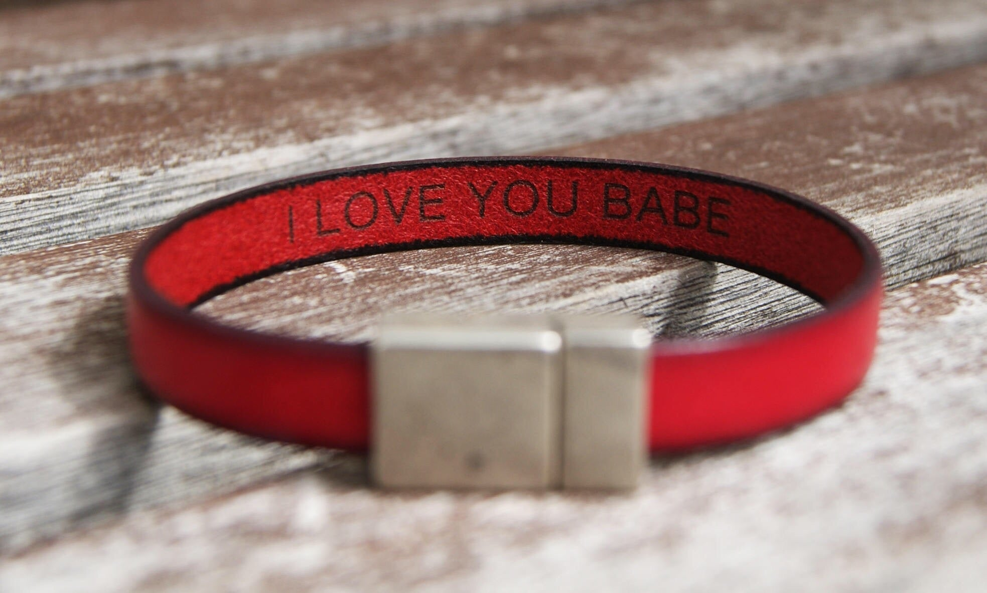 custom hidden message bracelet