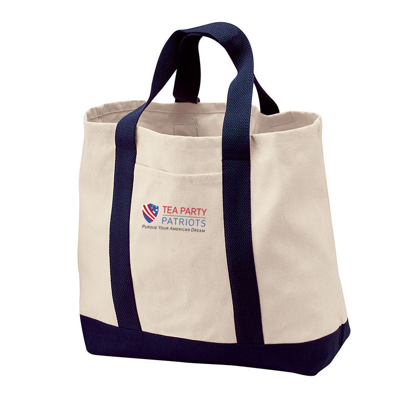 Tea Party Patriots Tote Bag