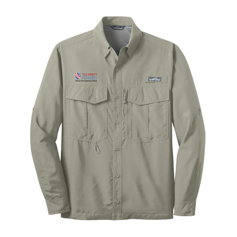 Tea Party Patriots Long Sleeve Performance Fishing Shirt