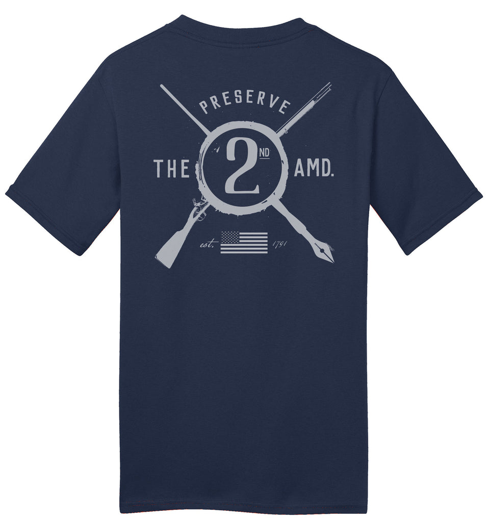 Preserve the 2nd Amendment T-Shirt (Limited Time Only)