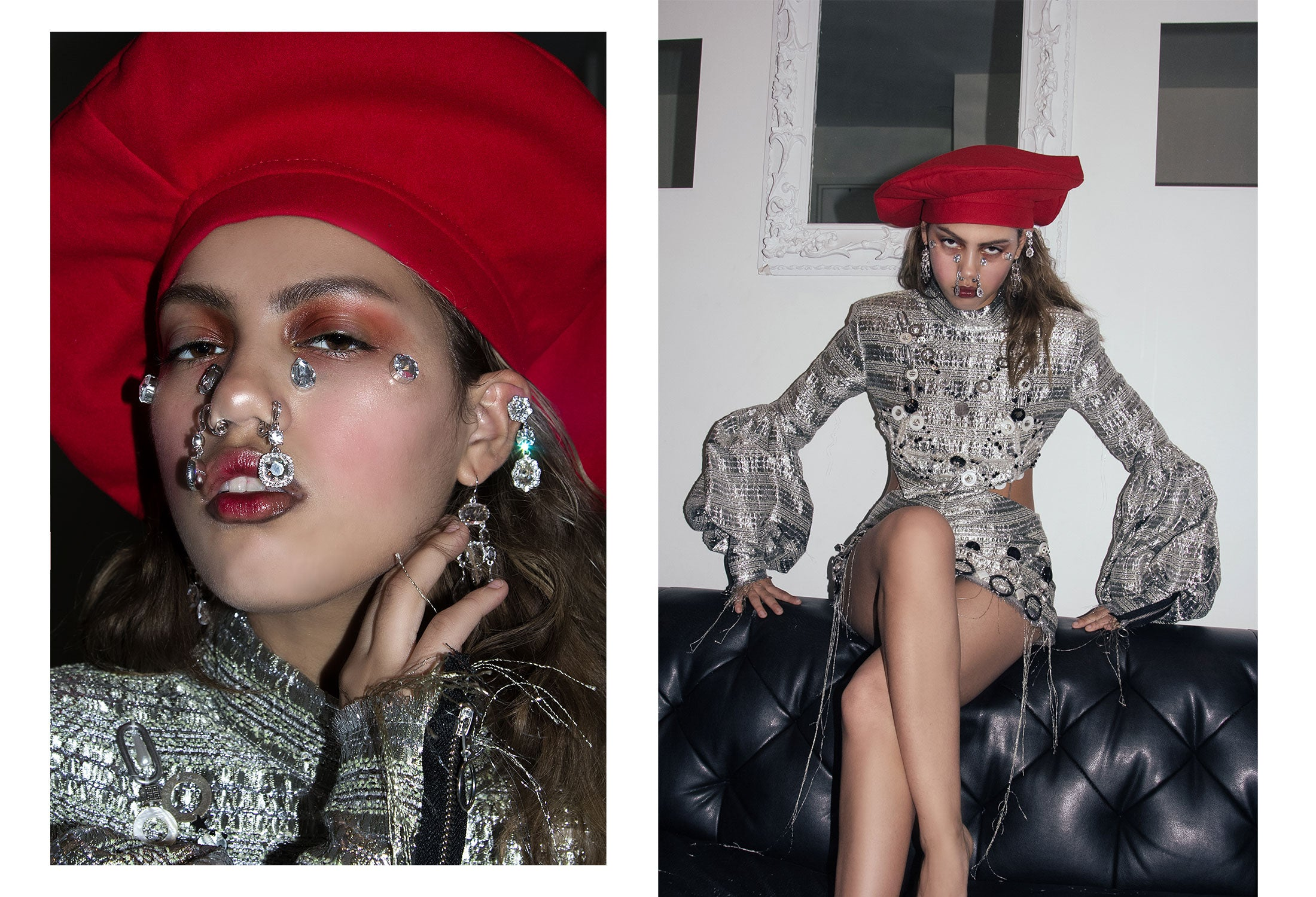 odd92 editorial photographer Angella Choe makeup by Cupid Charles Jeffrey Loverboy Dilara Findikoglu womenswear