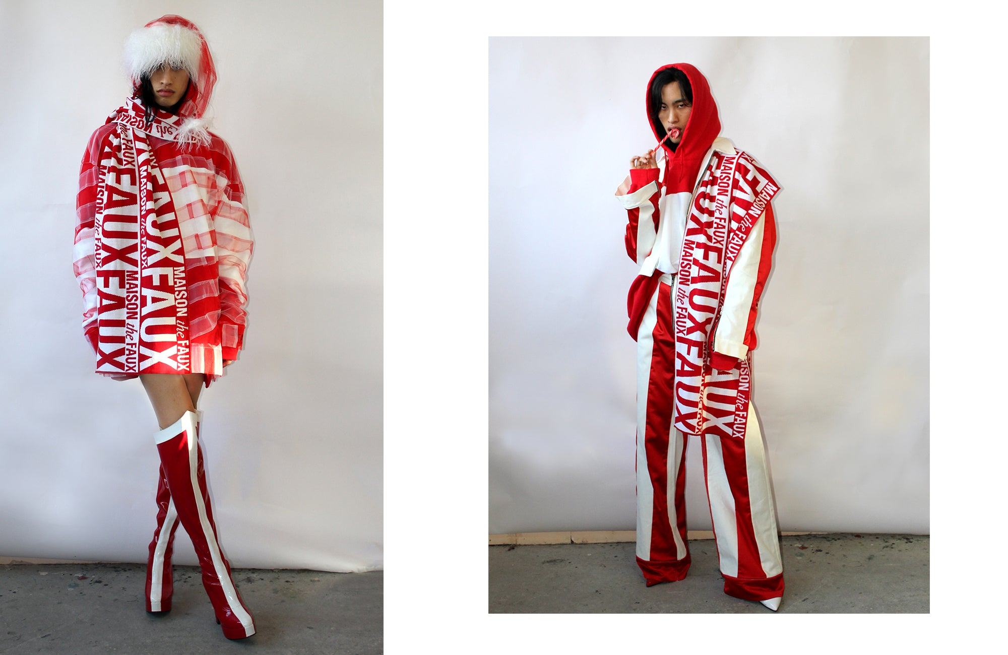 Maison The Faux <3 odd92 Unisex Holiday Capsule Collaboration Collection