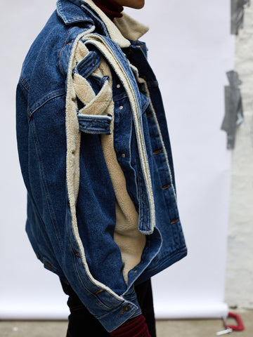 Double Layer Denim Jacket