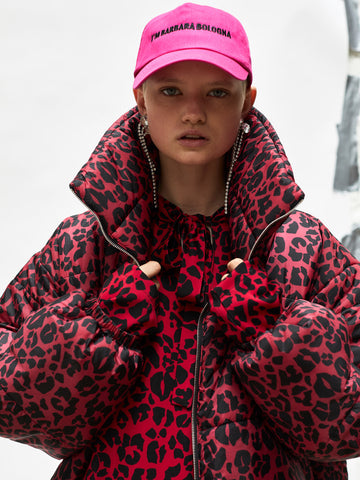 Leopard Padded Jacket