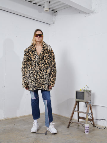 Leopard Sectional Coat