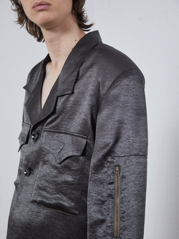 Front Pockets Jacket