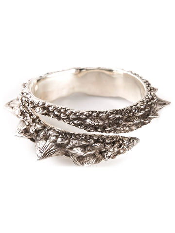 Barb Wrap Cuff with Diamonds