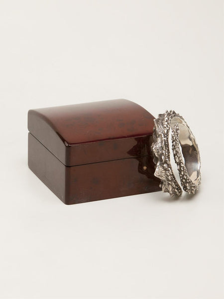 HENSON  Barb Wrap Cuff with Diamonds - 4