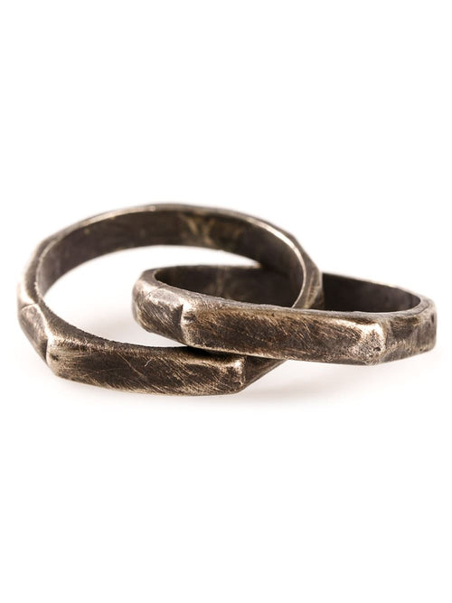 HENSON  Carved Infinity Ring - 1