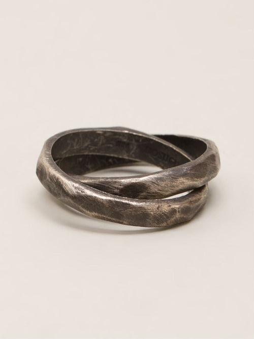 HENSON  Carved Infinity Ring - 2