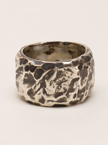 Carved Thick Ring