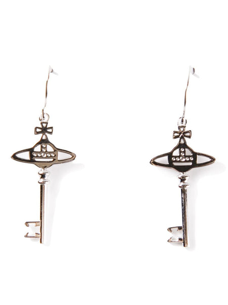 VIVIENNE WESTWOOD JEWELRY  Small Key Earrings - 1