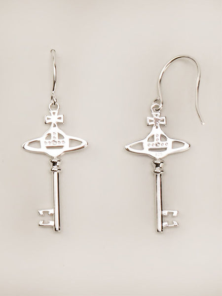 VIVIENNE WESTWOOD JEWELRY  Small Key Earrings - 2