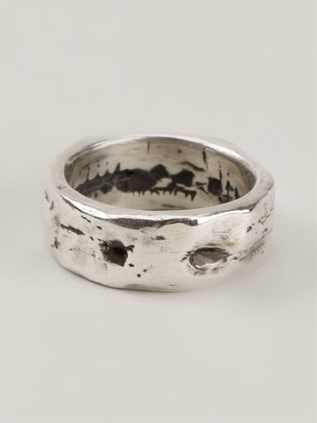 HENSON  Carved Ring - 4