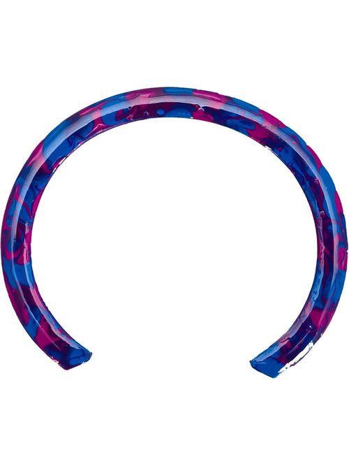 GEMMA REDUX  Chrome Splatter Bangle - 1