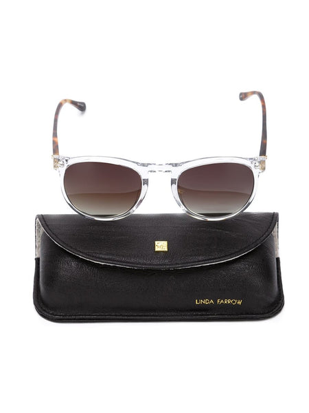 LINDA FARROW GALLERY  T-Shell Sunglasses - 3