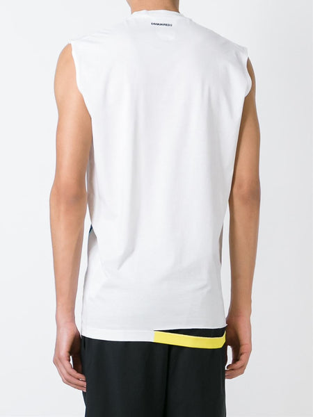 DSQUARED2  Ripped Fit Tee - 4