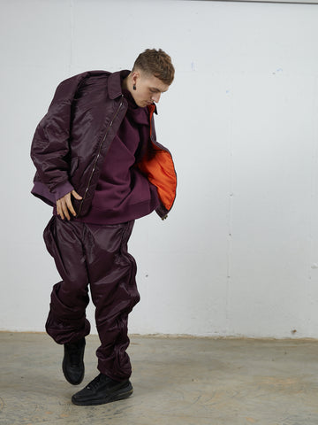 Oversized Wire Trackpants