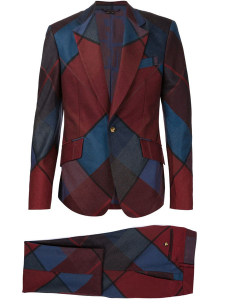 VIVIENNE WESTWOOD MAN  Argyle James Suit - 1