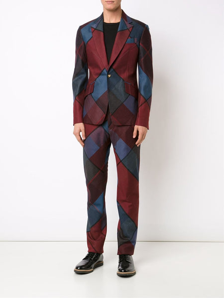 VIVIENNE WESTWOOD MAN  Argyle James Suit - 2