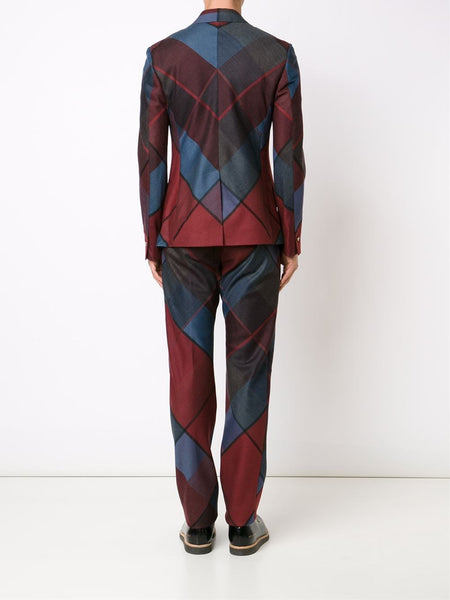 VIVIENNE WESTWOOD MAN  Argyle James Suit - 4