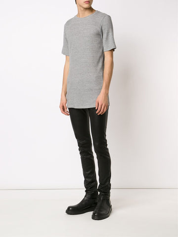 Ribbed Short-Sleeve Tee