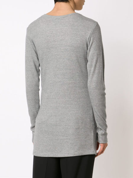JUDSON HARMON  Ribbed Long-Sleeve Tee - 4