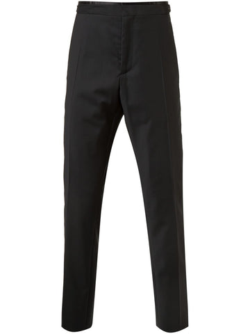 Silk Wool Trousers