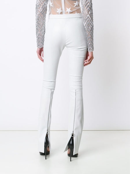 CREATURES OF THE WIND  Pava Stretch Leather Trousers - 4
