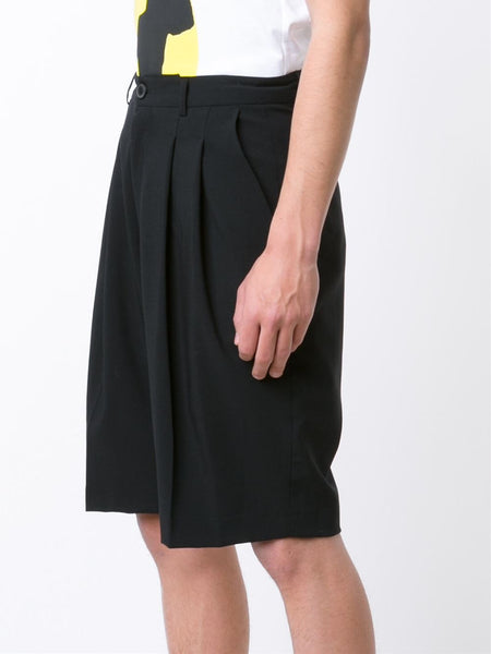 ICOSAE  Double Pleat Shorts - 3