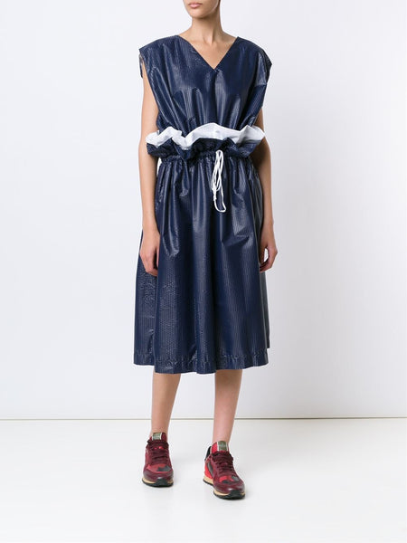 ARTHUR ARBESSER  Drawstring Nylon Dress - 2