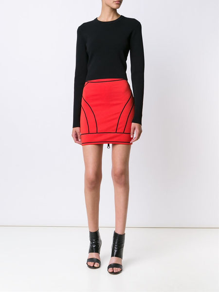 DSQUARED2  Piped Skirt - 2