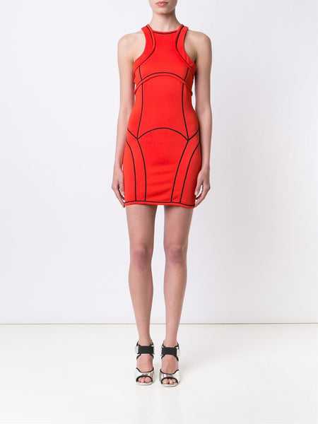 DSQUARED2  Compact Piped Dress - 2
