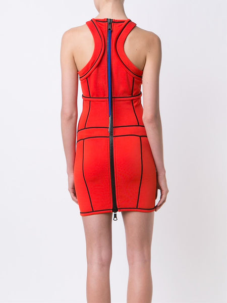 DSQUARED2  Compact Piped Dress - 4