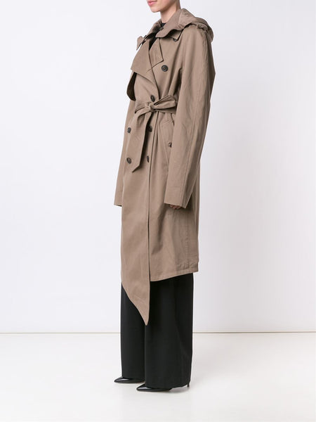 Y/PROJECT  Hooded Trench Coat - 3