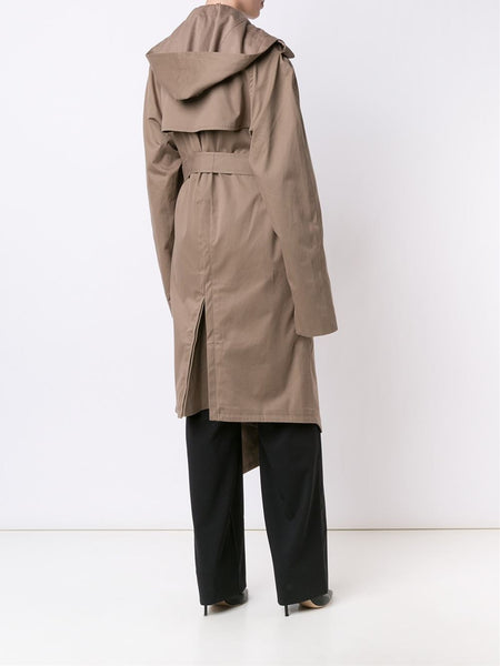 Y/PROJECT  Hooded Trench Coat - 4