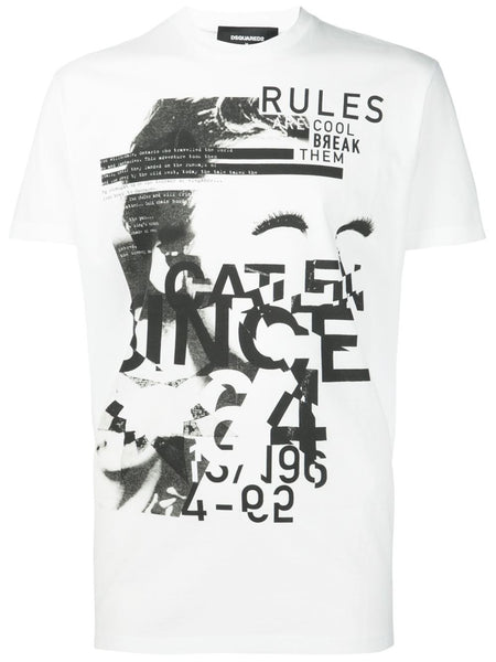 DSQUARED2  Dyed Rules Tee - 1