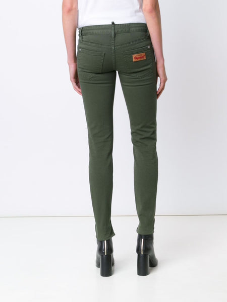 DSQUARED2  Medium Waist Twiggy Jean - 5