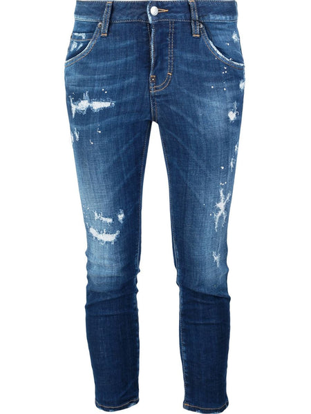 DSQUARED2  Cool Girl Cropped Jean - 1