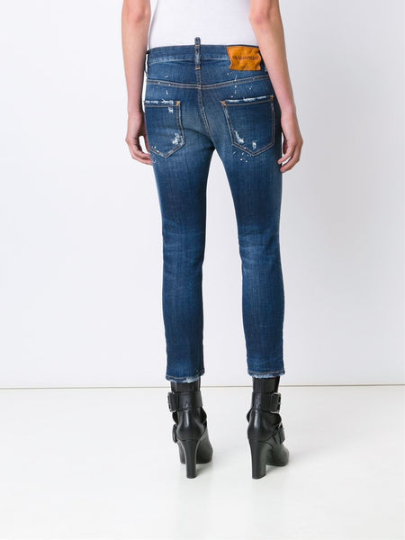 DSQUARED2  Cool Girl Cropped Jean - 4