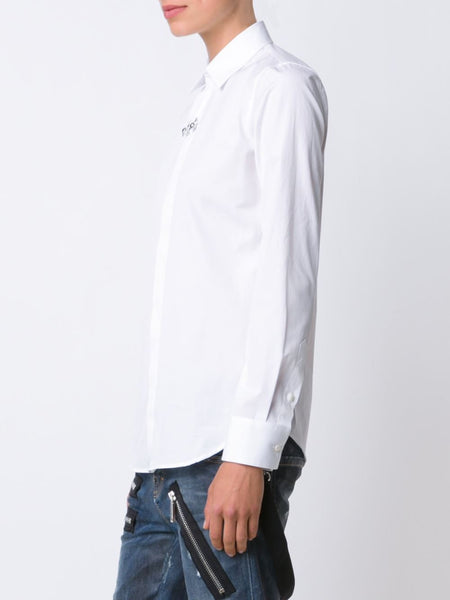 DSQUARED2  Boxy Pointed Collar Shirt - 4