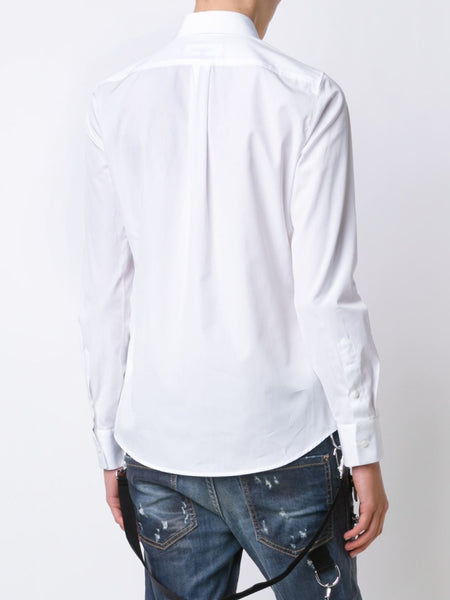 DSQUARED2  Boxy Pointed Collar Shirt - 3