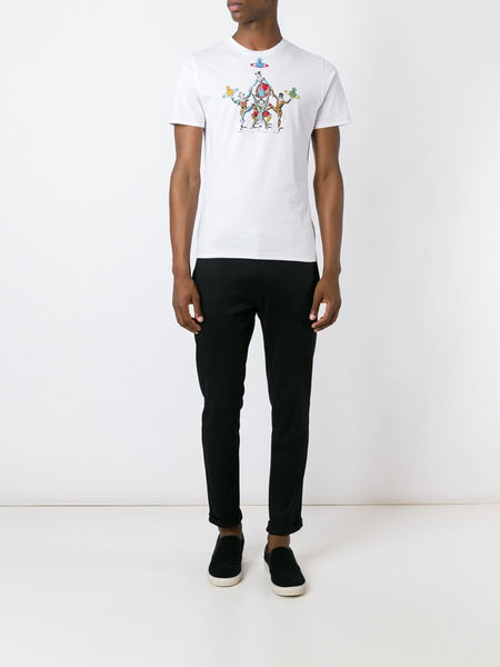 VIVIENNE WESTWOOD MAN  White Carnival T-Shirt - 2