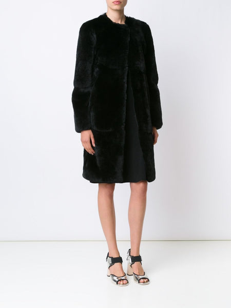 CREATURES OF THE WIND  Jiri Rabbit Fur Coat - 2