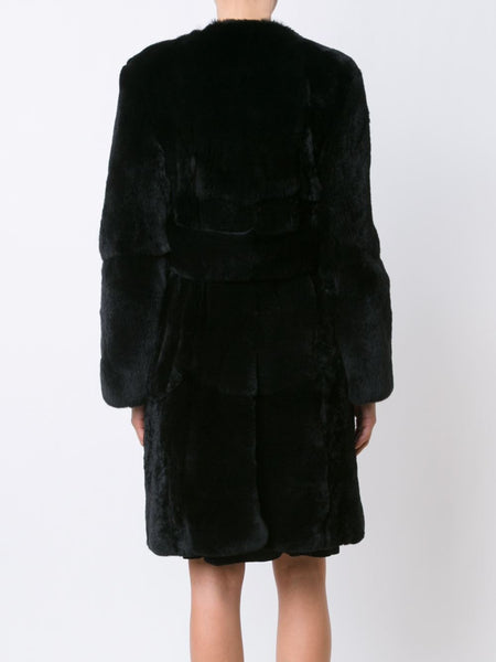 CREATURES OF THE WIND  Jiri Rabbit Fur Coat - 4
